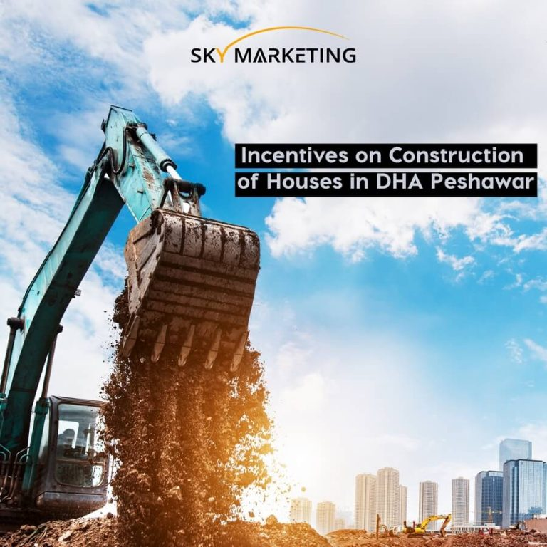 Incentives on construction of houses in DHA Peshawar