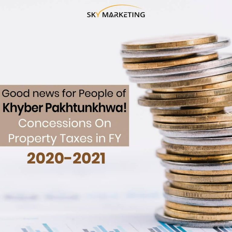 Khyber Pakhtunkhwa Concessions On Property Taxes in FY 2020-2021