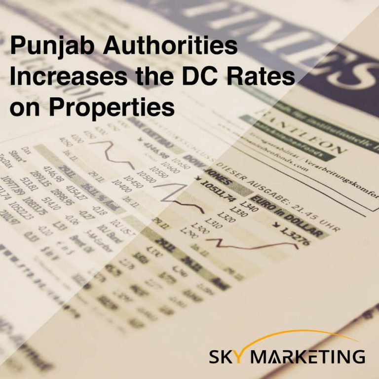 Punjab authorities increases the DC rates properties