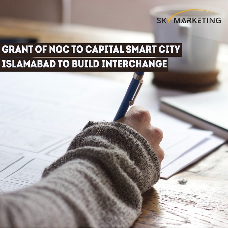 Grant of NOC to Capital Smart City Islamabad to build interchange